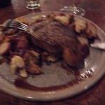 strip steak with cauliflower & potatoes