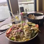Gregory's Cobb salad- I added the onion ;)