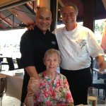 Chef Lilo and Gilberto wish Mom Happy Birthday 🎂