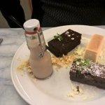 Guiness chocolate dessert