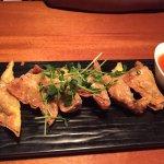 Blue Crab Dumplings Mango Chili Sauce