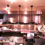 Grill lids made into light fixtures
