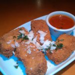Deep Fried Lasagna with Marinara (Special one day)