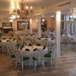 The Patterson Room can accommodate up to 120 guests