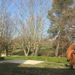 Jardin et sculpture