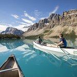 Canoeing Bow Lake
