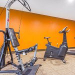 Get fit and stay active in our fitness center.
