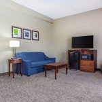 Relax in comfort in our spacious family-suite sitting area.