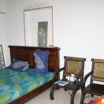 Chambre avec salle d'eau au1er étage de l'Atithi Guest House