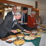 The excellent buffet lunch at our AGM.