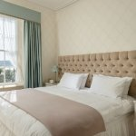 Poldhu Sea View ensuite room, made as double