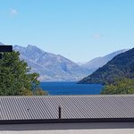 View from our room of Lake Wakatipu
