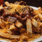 Our Chili Cheese Fries are definitely a hearty snack.