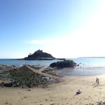 Having visited St Michael's mount we decided to have a late lunch at the Godolphin, the food was