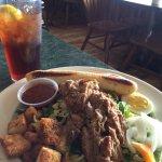 Salad & Bar-b-Que