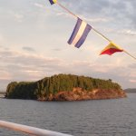 View Of One Of Many Islands In Lake Champlain From The Spirit Of Ethan Allen, Vermont