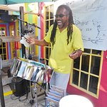 Carribean music at Bert's in the afternoon