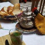 Pre-breakfast mint tea on offer!!