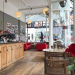 The Glass Lounge is one example of a beautiful Edwardian Tea Room in Colwyn Bay. Lovely coffee &
