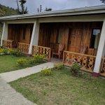 Balconies of cabins