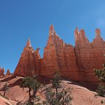Queen Victoria - the middle hoodoo in this image