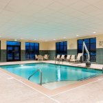 Get in a great workout swimming laps in our indoor pool
