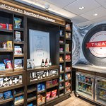 Our 24-hour TREATS Shop is stocked with a variety of beverages, snacks and sundries.