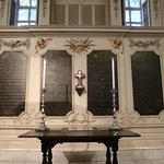 View Of Prayer Plaques, King's Chapel, Boston, MA