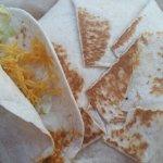 Crunch wrap with soft taco