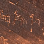 Petroglyphs from Colorado River Excursion