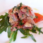 Smoked tuna tartare