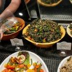 yummy quinoa/ kale salad