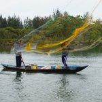Fishermen on the Thu Bon River