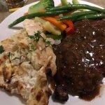 Steak & Scallop Potatoes
