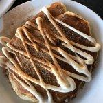 Great pancakes and huevos  rancheros options