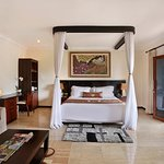 our Agung Ocean View room offer beautiful and cozy room with a view