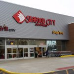 Entrance to Seafood City
