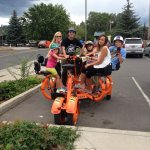 Family time on the CRAB Bike!