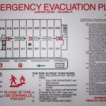 Evacuation Plan - Room Map