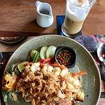 Pineapple shrimp rice
