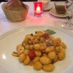 Gnocchi aux fruits de mer