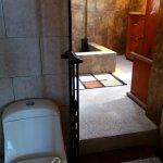 Modernes Bad in altem Haus
