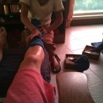 One of my foot reflex sessions