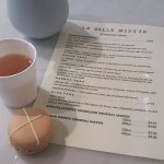 My easter macaroon and flavoured tea - awesome