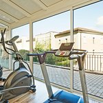 Fitness room at Oasi Spa