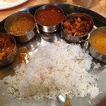 Mini meals thaali