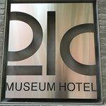 21c Museum Hotel (sign).