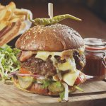 The Broom Tavern Burger
