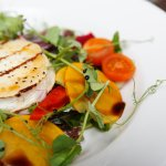 Goats cheese salad at The Orangery Restaurant, Kenton