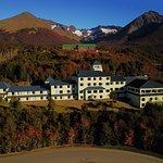 En hotel rodeado de bosques naturales